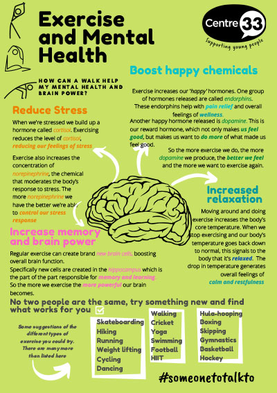 How exercise can help your mental health
